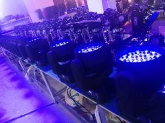 Production Line of Moving Head Lights 2018-01-08