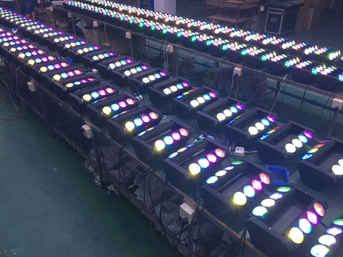 Production Line of LED Moving Head Spider Light 2018-03-19
